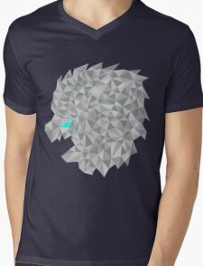 snow lion shift Mens V-Neck T-Shirt