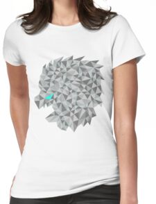 Snow lion  Womens Fitted T-Shirt