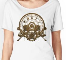 Vintage Steampunk Time Machine #1 Women's Relaxed Fit T-Shirt