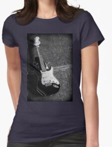 Fender Squire Stratocaster  Womens Fitted T-Shirt