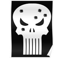 COMIC BOOK PUNISHER STYLE SKULL MILITARY Poster