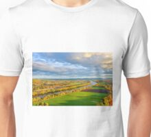 The Connecticut River in Massachusetts. Unisex T-Shirt