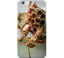 The Industry of Paper Wasps iPhone Case/Skin