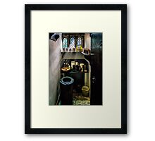 Victorian Pantry Framed Print