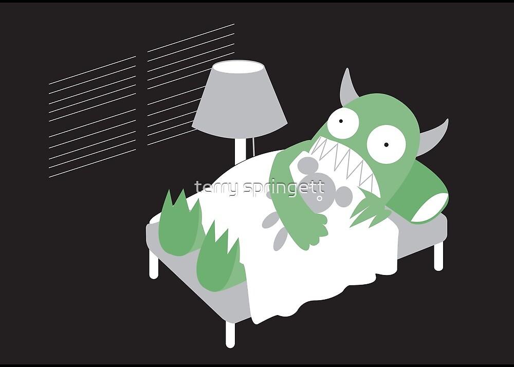 Afraid Of Monsters by terry springett