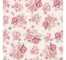 Beautiful rose pink background Photographic Print