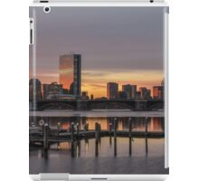 Back Bay sunrise in Boston, Massachusetts. iPad Case/Skin