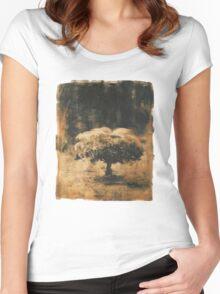 Solitudine della forma Women's Fitted Scoop T-Shirt