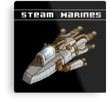 Steam Marines - I.S.S. Orion Metal Print