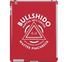 BULLSHIDO MARTIAL ARTS CENTER iPad Case/Skin