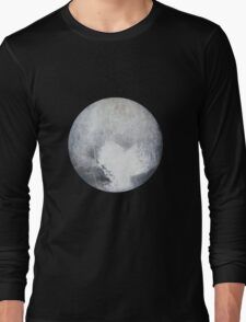 Pluto Drawing Long Sleeve T-Shirt