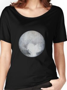 Pluto Drawing Women's Relaxed Fit T-Shirt