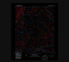 USGS TOPO Map Alaska AK Point Lay D-1 358451 1955 63360 Inverted Unisex T-Shirt