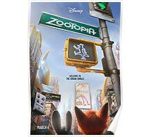 Movie Poster (Zootopia) Poster