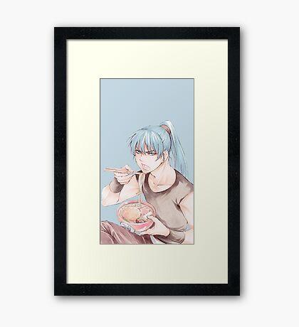 Yu Kanda Framed Print