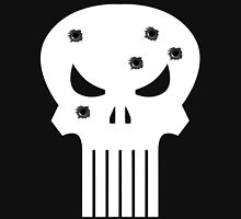 COMIC BOOK PUNISHER STYLE SKULL MILITARY Classic T-Shirt