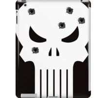 COMIC BOOK PUNISHER STYLE SKULL MILITARY iPad Case/Skin