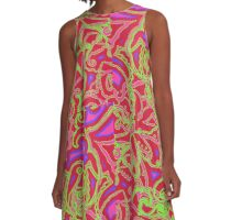 Mambo Sorbet Purple A-Line Dress