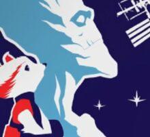 Marvel's Groot/Rocket Raccoon NASA Mission Patch Sticker
