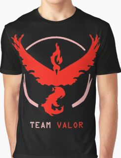 Team Valor Pokemon Go Graphic T-Shirt