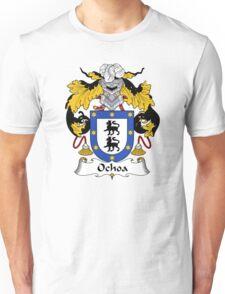 Ochoa Coat of Arms/ Ochoa Family Crest Unisex T-Shirt