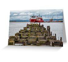 The Old Pier Greeting Card