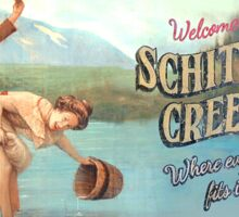 SCHITT'S CREEK BILLBOARD Sticker
