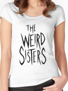 The Weird Sisters - Black Women's Fitted Scoop T-Shirt