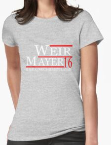 Weir Mayer 2016 Make America Grateful Again Womens Fitted T-Shirt