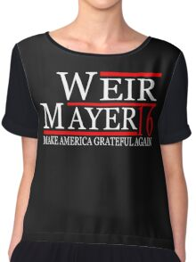 Weir Mayer 2016 Make America Grateful Again Chiffon Top