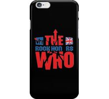 the rock on rs who iPhone Case/Skin