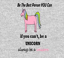 Be a UNICORN Womens Fitted T-Shirt