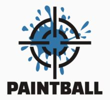 Paintball splash crosshairs by Designzz