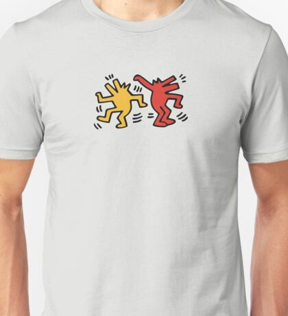 Keith Haring Dancing Dog Unisex T-Shirt