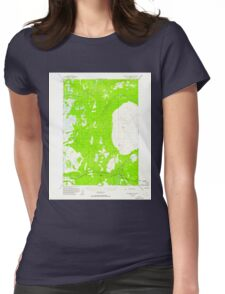 USGS TOPO Map Alaska AK Anchorage D-8 354065 1951 63360 Womens Fitted T-Shirt