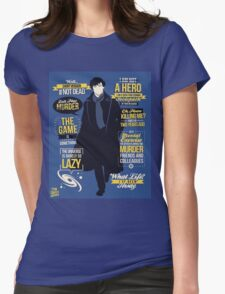 detective quotes Womens Fitted T-Shirt
