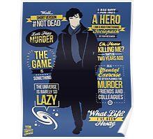 detective quotes Poster