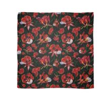 Sweet Red Garden Scarf