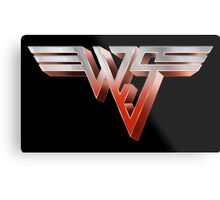 BILL AND TED - WYLD STALLYNS LOGO (VAN HALEN) Metal Print