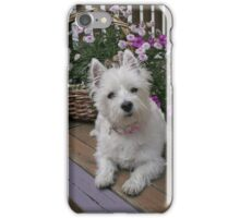 Winnie in the Flowers iPhone Case/Skin
