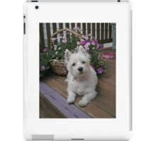 Winnie in the Flowers iPad Case/Skin