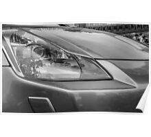 Nissan 350Z - Front Headlight Poster