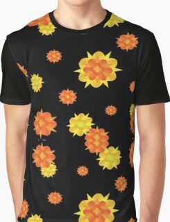 Floral Print Modern Style Pattern  Graphic T-Shirt