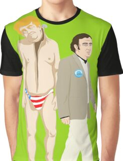 Here he comes to save the day. Graphic T-Shirt