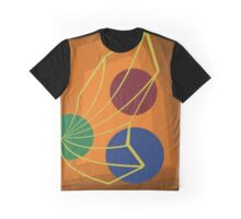 Orange abstraction Graphic T-Shirt