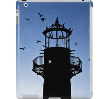 Cormorants Roosting on the Lighthouse iPad Case/Skin