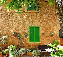 The Green Shutters  by Fara