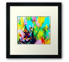 Color Party Framed Print