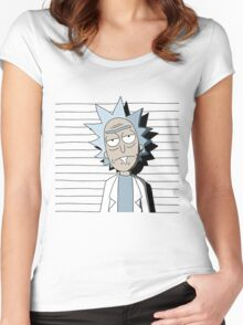 Rick and Morty T-shirt - funny shirt  Women's Fitted Scoop T-Shirt