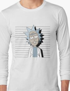 Rick and Morty T-shirt - funny shirt  Long Sleeve T-Shirt